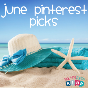 June Pinterest Pick 3 Blog Post