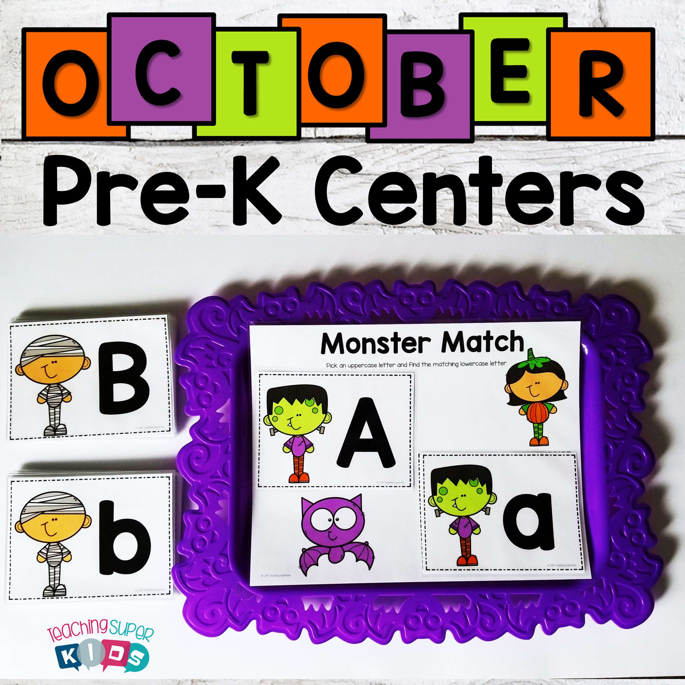 October Preschool Centers - Teaching Superkids